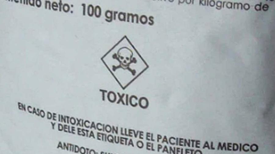 Unas 197 personas se envenenan cada año