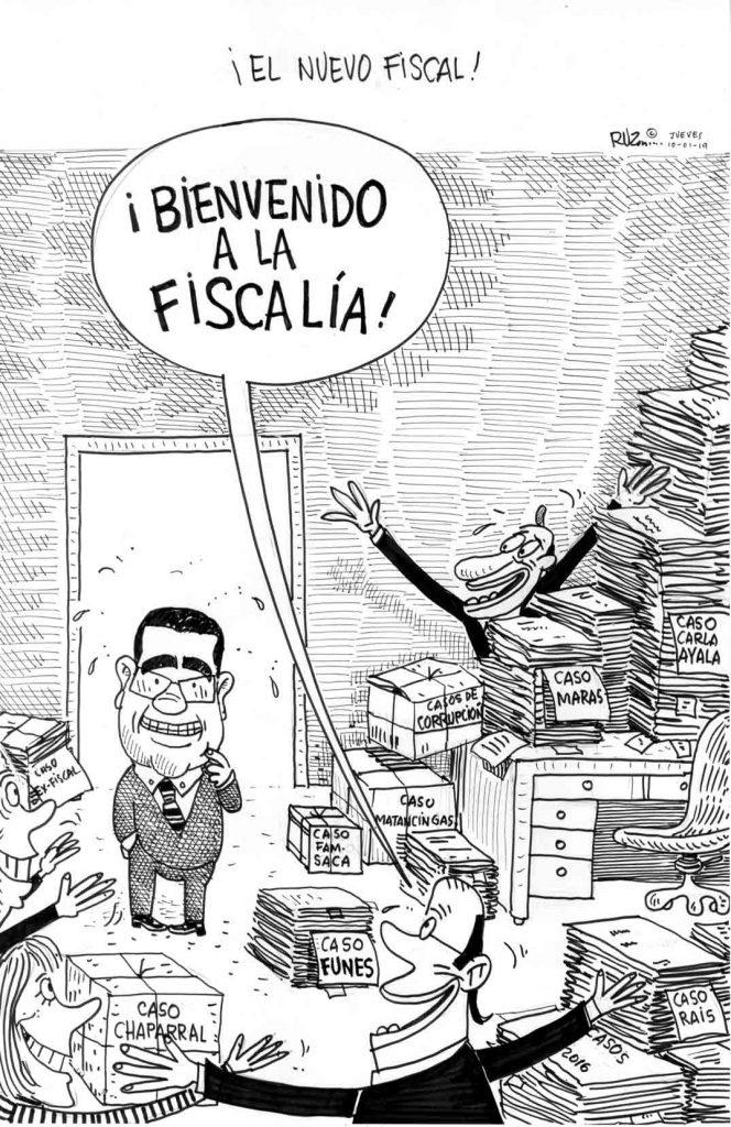 ¡El nuevo fiscal!