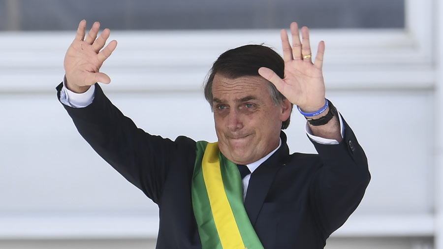 Bolsonaro con peor evaluación después de 3 meses en Brasil