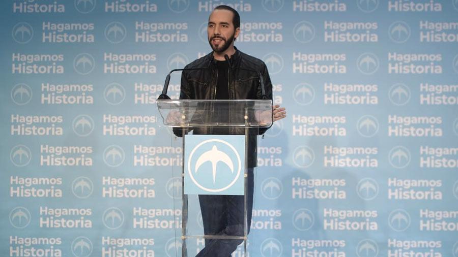 Líderes mundiales felicitan a Bukele tras ganar elecciones presidenciales en El Salvador