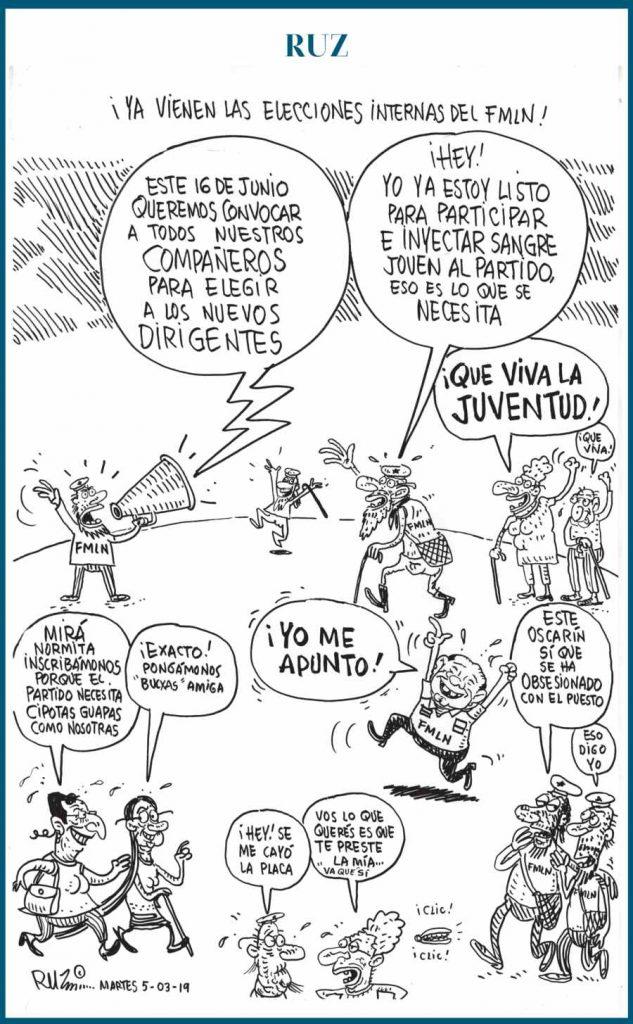 ¡Ya vienen las elecciones internas del FMLN!