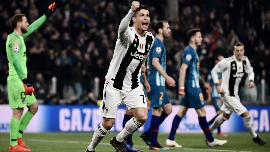 Cristiano Ronaldo y la Juventus fulminaron al Atlético de Madrid en Champions