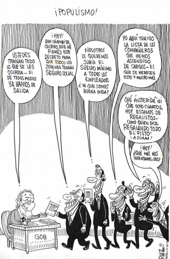 ¡Populismo!