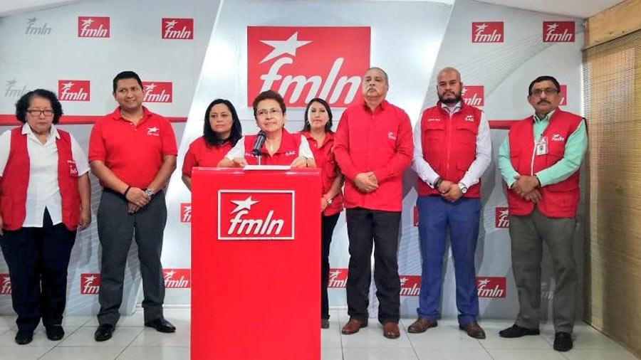 El FMLN hará elección de autoridades el 16 de junio