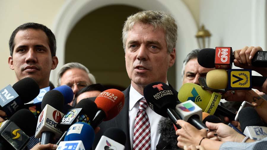 Régimen de Maduro expulsa a embajador de Alemania en Venezuela