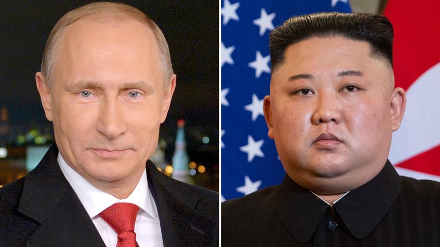 """Vladímir Putin recibirá a Kim Jong-un en Rusia en la""""segunda mitad de abril"""""""