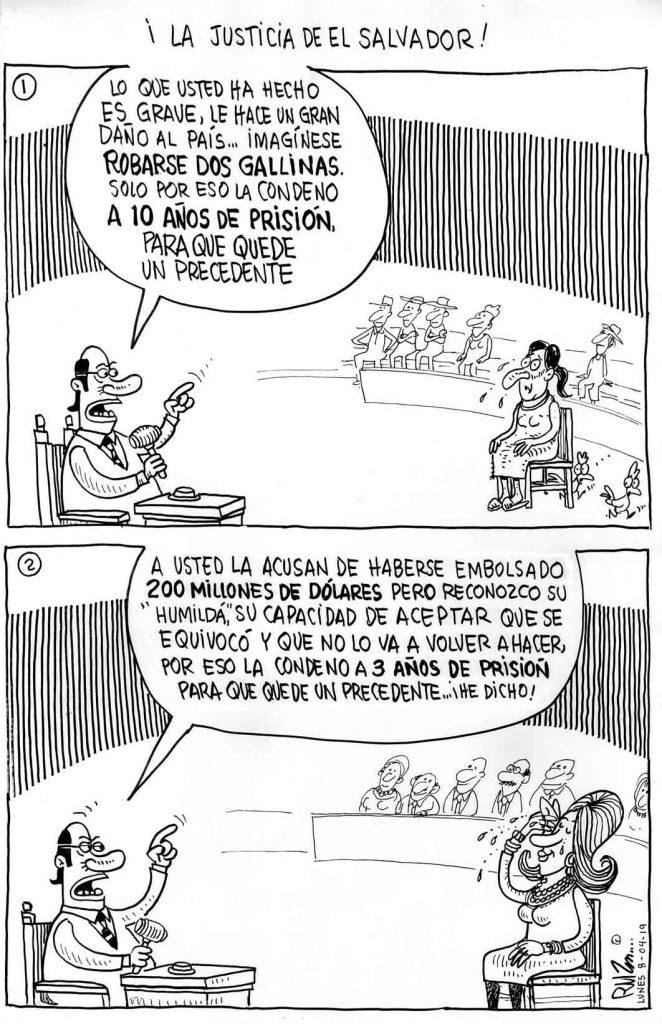 ¡La justicia de El Salvador!