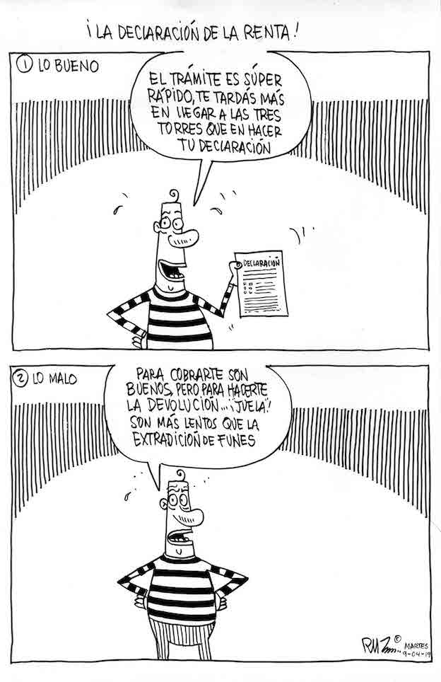 ¡La declaración de la renta!