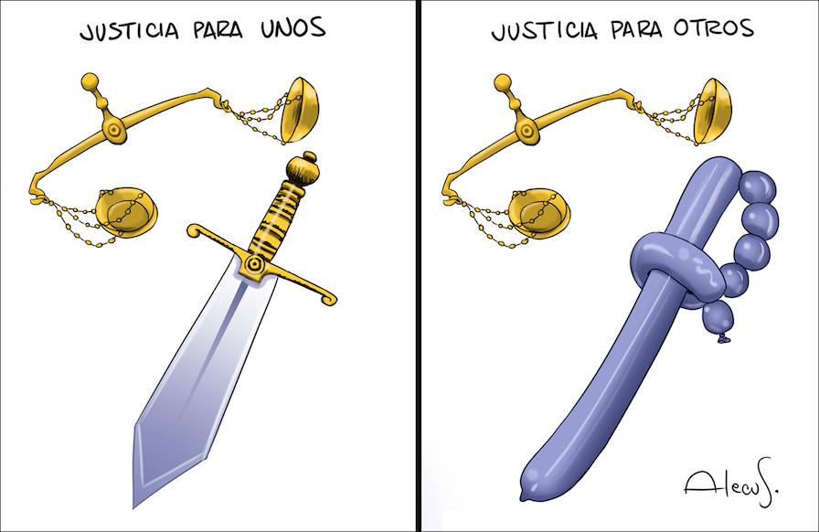 Justicia para unos, justicia para otros