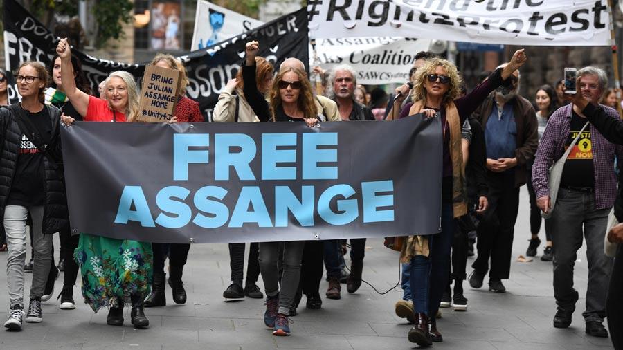 Assange teme ser condenado a décadas en prisión si es extraditado a EE. UU.