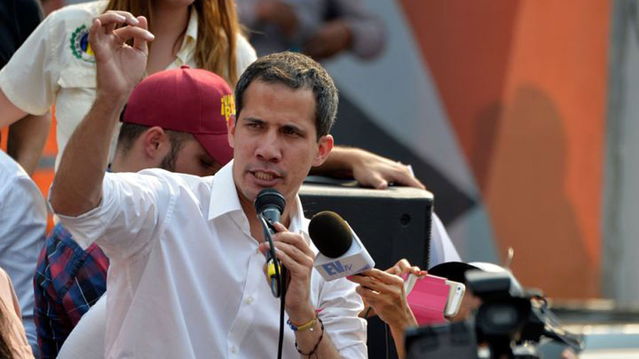 EE.UU. pide a Naciones Unidas reconocer presidencia de Guaidó